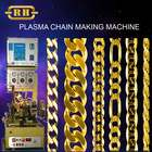 925 Silver 0.30mm Automatic chain making machine with Plasma