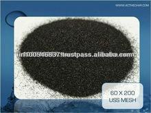 Activated carbon unpleasant odor removal